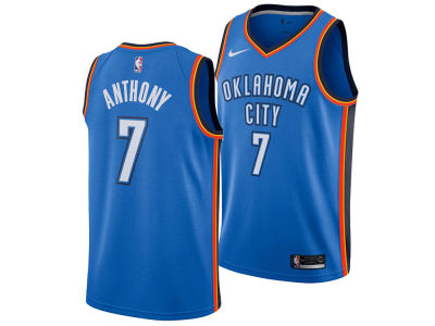 Oklahoma City Thunder Carmelo Anthony Nike NBA Men's Icon Swingman Jersey