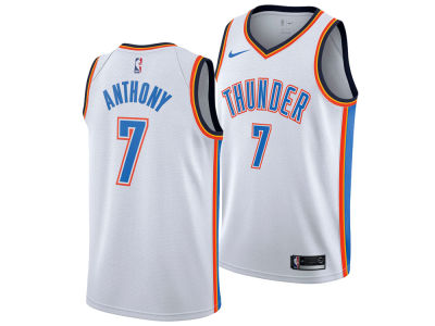 Oklahoma City Thunder Carmelo Anthony Nike NBA Men s Association Swingman  Jersey daa8e04b8