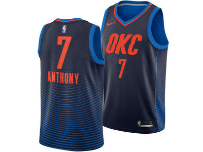 Oklahoma City Thunder Carmelo Anthony Nike NBA Men's Statement Swingman Jersey