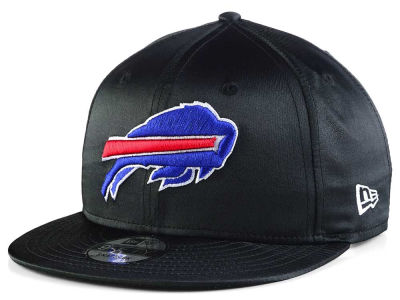 Buffalo Bills New Era NFL Black Satin 9FIFTY Snapback Cap