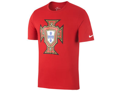 Portugal Nike Men's National Team Crest T-Shirt