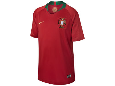 Portugal Nike 2018 Youth National Team Home Stadium Jersey