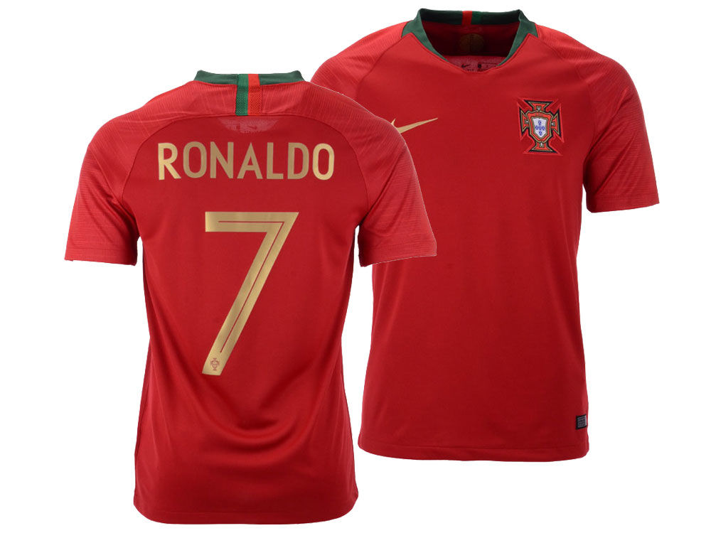 Portugal Cristiano Ronaldo Nike Men s National Team Home Stadium Jersey  09324117c