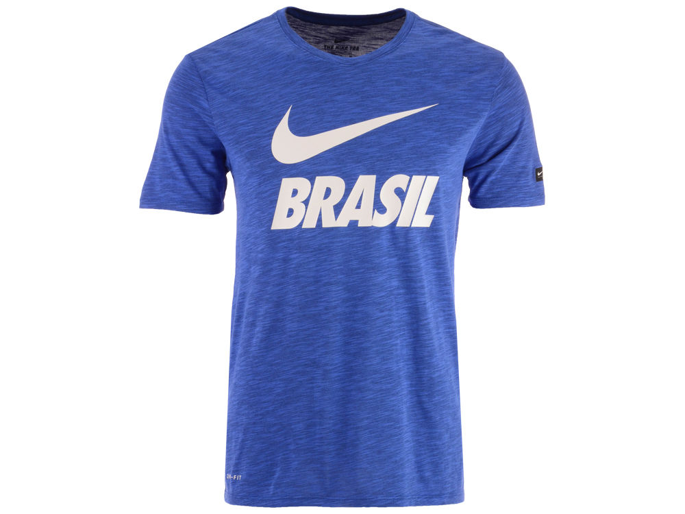 Brazil Nike Men s National Team Slub Preseason T-Shirt  65bebdd318f9f