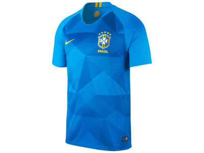 Brazil Nike Men's 2018 National Team Away Stadium Jersey