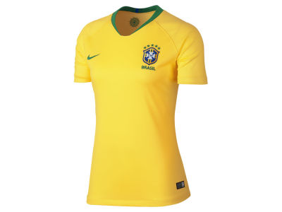 Brazil Women's National Team Home Stadium Jersey