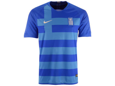 Greece Nike 2018 Men's National Team Away Stadium Jersey