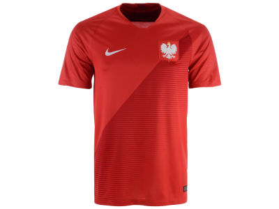 Poland Nike 2018 Men's National Team Away Stadium Jersey