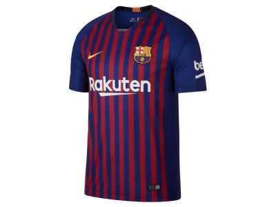 FC Barcelona Men's Club Team Home Stadium Jersey