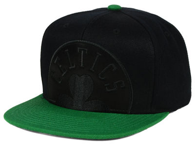 Boston Celtics Mitchell & Ness NBA Cropped Satin Snapback Cap