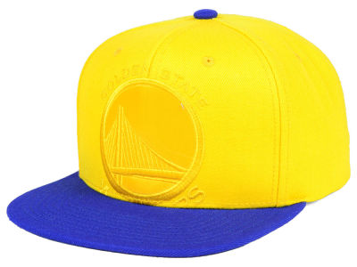 Golden State Warriors Mitchell & Ness NBA Cropped Satin Snapback Cap
