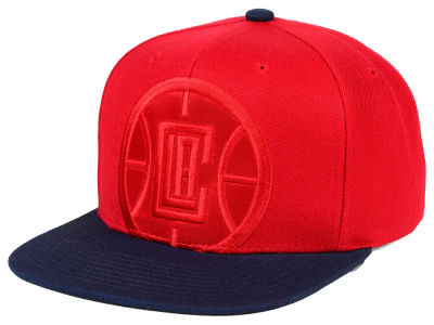 Los Angeles Clippers Mitchell & Ness NBA Cropped Satin Snapback Cap