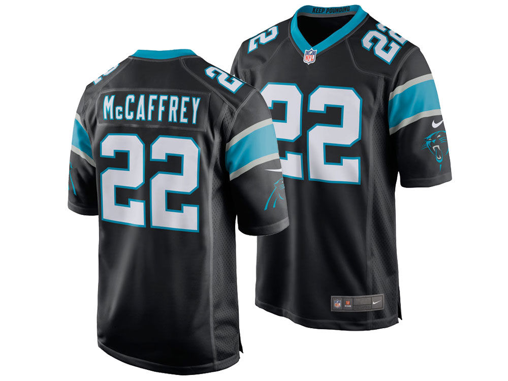 Carolina Panthers Christian McCaffrey Nike NFL Kids Game Jersey ... 08631d270