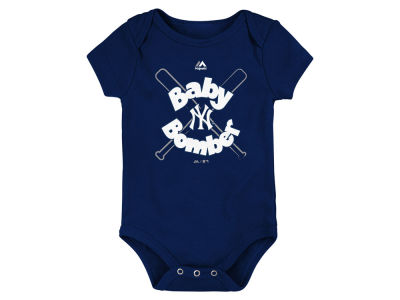 New York Yankees Majestic MLB Newborn Baby Bomber Creeper