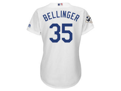 Los Angeles Dodgers Cody Bellinger Majestic 2017 MLB Women's World Series Player Patch Jersey