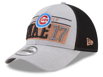 Chicago Cubs New Era 2017 MLB Division Series Locker Room Cap