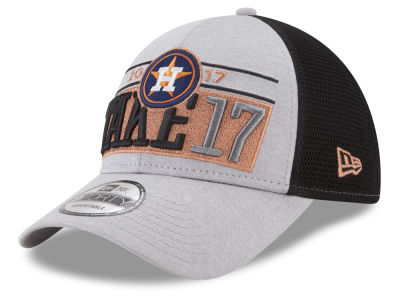 Houston Astros New Era 2017 MLB Division Series Locker Room Cap