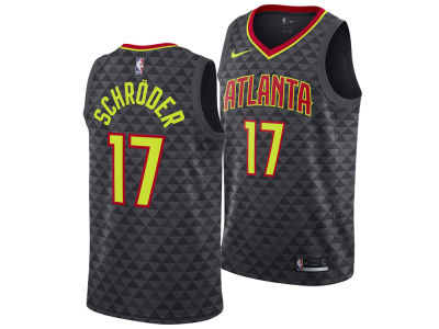 Atlanta Hawks Dennis Schroder Nike NBA Men's Icon Swingman Jersey