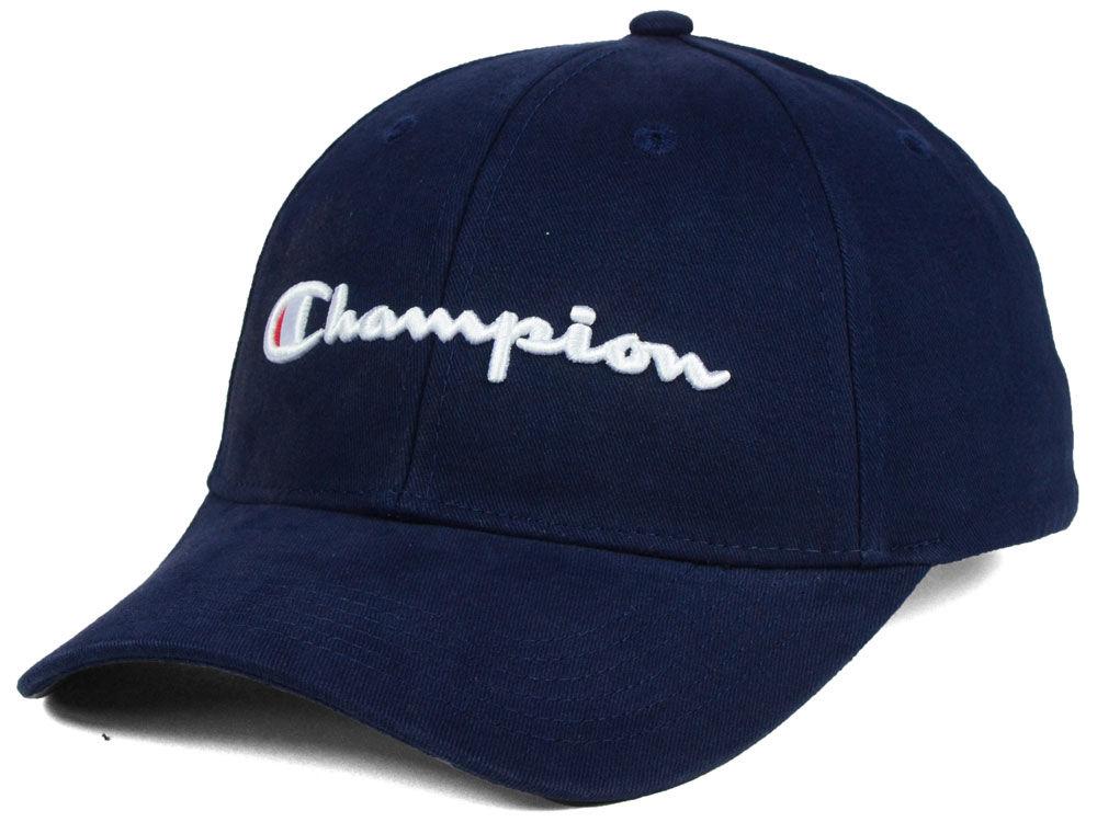Champion Classic Script Hat  80d2e0be6420