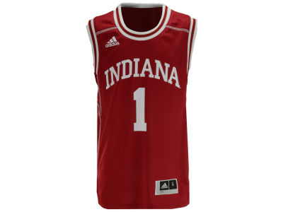 Indiana Hoosiers adidas NCAA Youth Replica Basketball Jersey