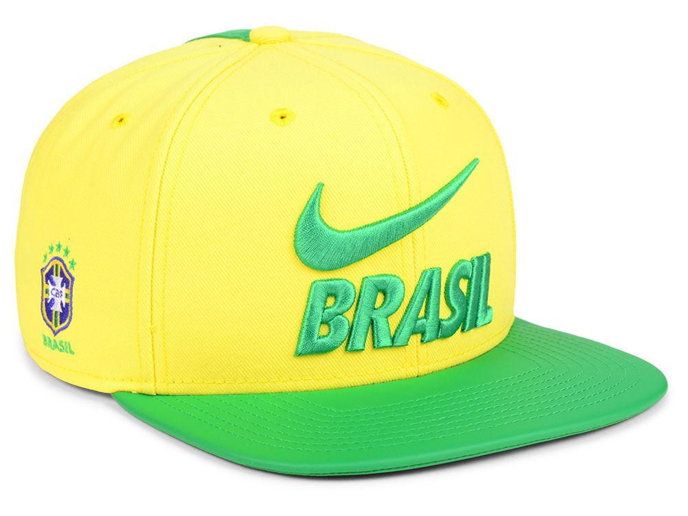 Brazil Nike National Team Snapback Cap  cc2877eb17c7