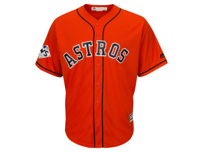 Houston Astros Majestic 2017 MLB Men's World Series Patch Replica Jersey
