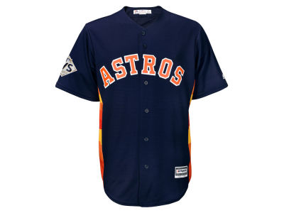Houston Astros 2017 MLB Men's World Series Patch Replica Jersey