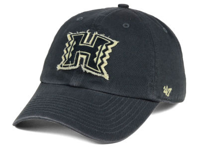 Hawaii Warriors '47 NCAA Double Out '47 CLEAN UP Cap