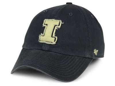 Illinois Fighting Illini '47 NCAA Double Out '47 CLEAN UP Cap