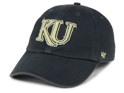Kansas Jayhawks '47 NCAA Double Out '47 CLEAN UP Cap