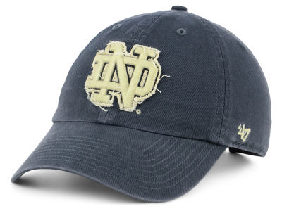 Notre Dame Fighting Irish '47 NCAA Double Out '47 CLEAN UP Cap