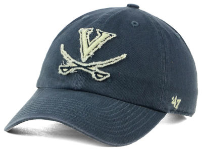 Virginia Cavaliers '47 NCAA Double Out '47 CLEAN UP Cap
