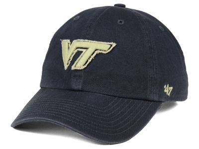 Virginia Tech Hokies '47 NCAA Double Out '47 CLEAN UP Cap