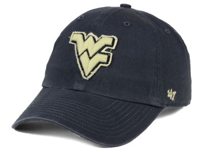 West Virginia Mountaineers '47 NCAA Double Out '47 CLEAN UP Cap