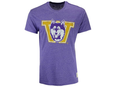 Washington Huskies Retro Brand NCAA Men's Retro Mock Twist Team Logo T-Shirt