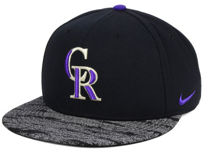 Colorado Rockies Nike MLB Reverse New Day Snapback Cap