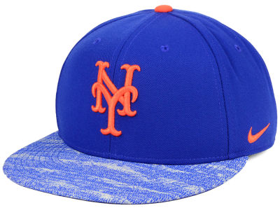 New York Mets Nike MLB Reverse New Day Snapback Cap