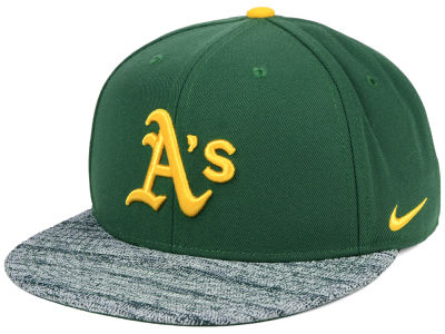 Oakland Athletics Nike MLB Reverse New Day Snapback Cap