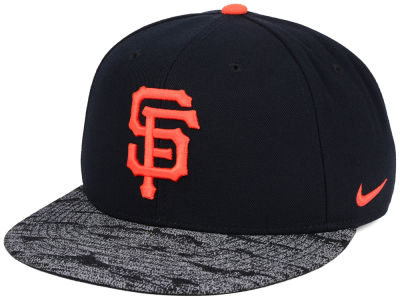 San Francisco Giants Nike MLB Reverse New Day Snapback Cap