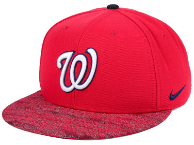 Washington Nationals Nike MLB Reverse New Day Snapback Cap
