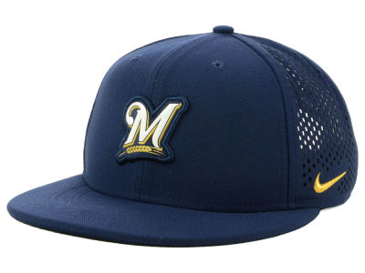 Milwaukee Brewers Nike MLB Aerobill Snapback Cap