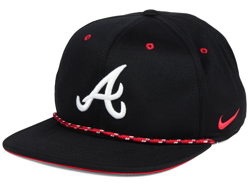 Atlanta Braves Nike MLB String Bill Snapback Cap  19f2c1f61b6