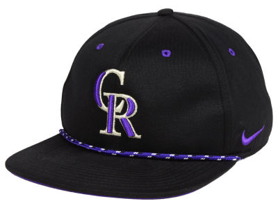 Colorado Rockies Nike MLB String Bill Snapback Cap
