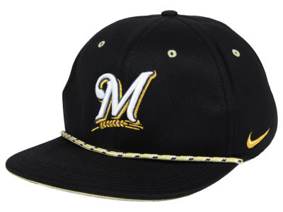 Milwaukee Brewers Nike MLB String Bill Snapback Cap