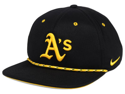 Oakland Athletics Nike MLB String Bill Snapback Cap