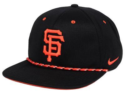 1d4a4040ecd San Francisco Giants Nike MLB String Bill Snapback Cap
