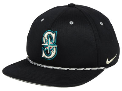 Seattle Mariners Nike MLB String Bill Snapback Cap