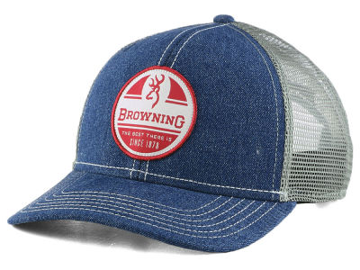 Browning Red White Blue Trucker Cap