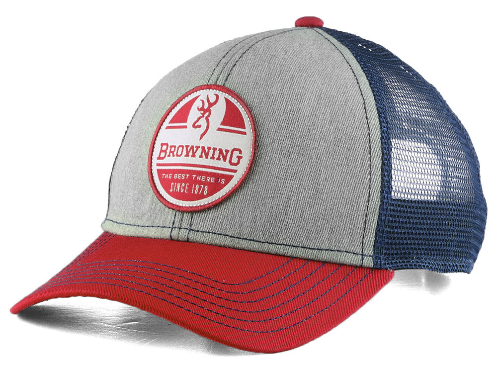 Browning Red White Blue Trucker Cap  65b2ff043aa