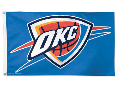 Oklahoma City Thunder 3x5 Deluxe Flag